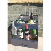 Alfresco ADT-14 14 in. Built-In Bartender Center with Sink